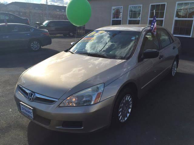 2007 honda accord value package in baltimore md dynamic cars. Black Bedroom Furniture Sets. Home Design Ideas