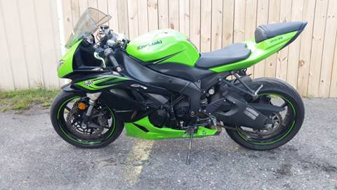 2011 Kawasaki Ninja ZX-6R for sale in Summerville, SC