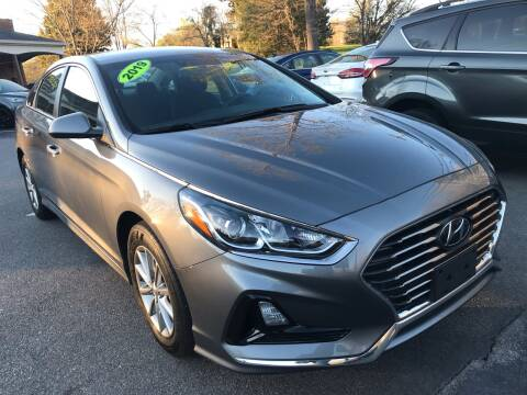 2019 Hyundai Sonata SE for sale at Scotty's Auto Sales, Inc. in Elkin NC
