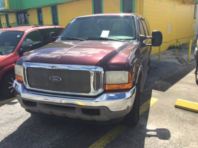 2000 Ford Excursion for sale at Louie's Auto Sales in Leesburg FL
