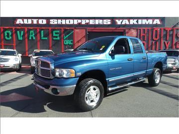 2004 Dodge Ram Pickup 2500 for sale in Yakima, WA