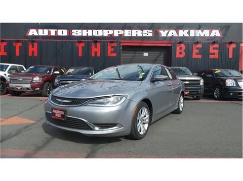 2015 Chrysler 200 for sale in Yakima, WA