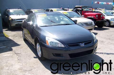 2006 Honda Accord for sale at Green Light Auto Sales INC in Miami FL