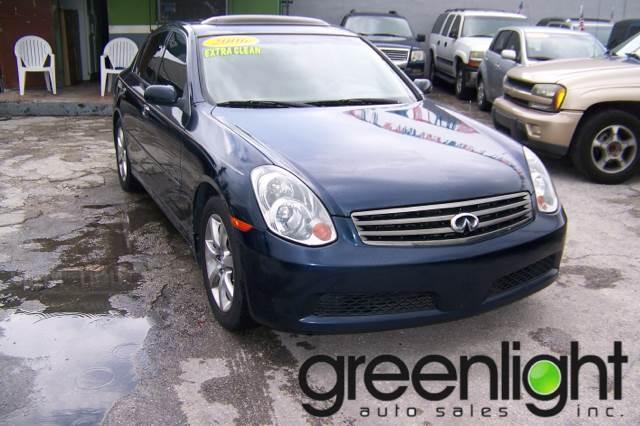 2006 Infiniti G35 for sale at Green Light Auto Sales INC in Miami FL