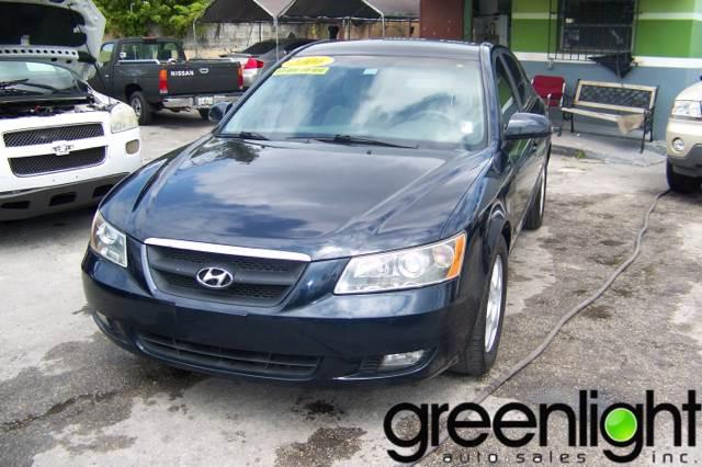 2006 Hyundai Sonata for sale at Green Light Auto Sales INC in Miami FL