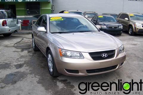 2007 Hyundai Sonata for sale at Green Light Auto Sales INC in Miami FL