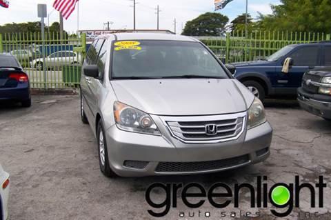 2008 Honda Odyssey for sale at Green Light Auto Sales INC in Miami FL
