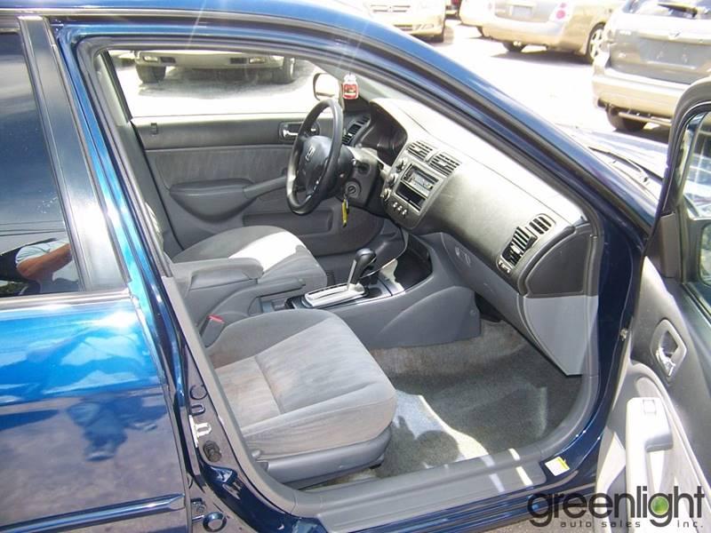 2004 Honda Civic for sale at Green Light Auto Sales INC in Miami FL