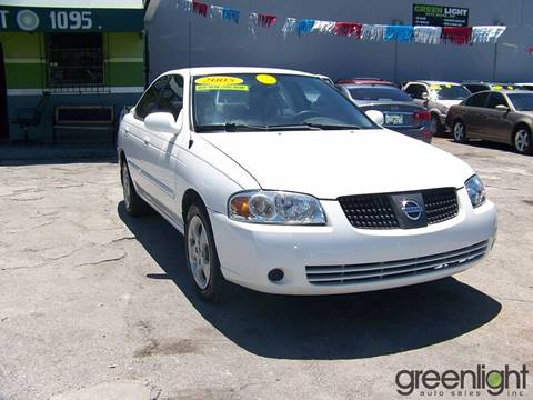 2005 Nissan Sentra for sale at Green Light Auto Sales INC in Miami FL