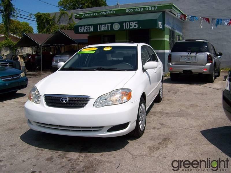 2007 Toyota Corolla for sale at Green Light Auto Sales INC in Miami FL