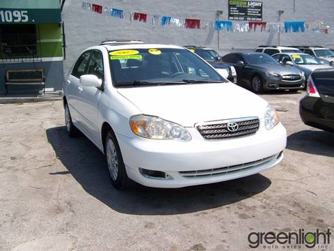 2007 Toyota Corolla for sale at Green Light Auto Sales INC in Miami FL