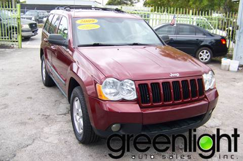 2009 Jeep Grand Cherokee for sale at Green Light Auto Sales INC in Miami FL