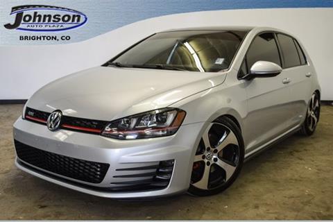 2015 Volkswagen Golf GTI for sale in Brighton, CO