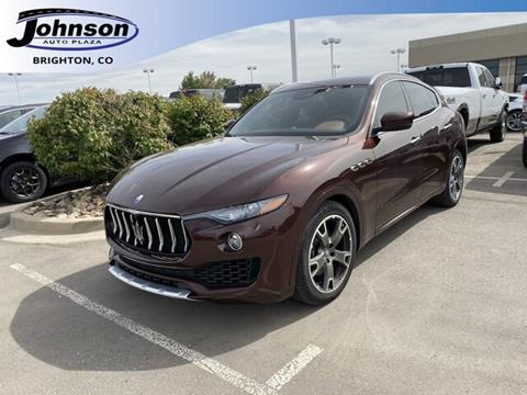 2017 Maserati Levante for sale in Brighton, CO