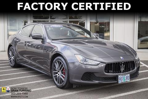 2017 Maserati Ghibli for sale in Wilsonville, OR