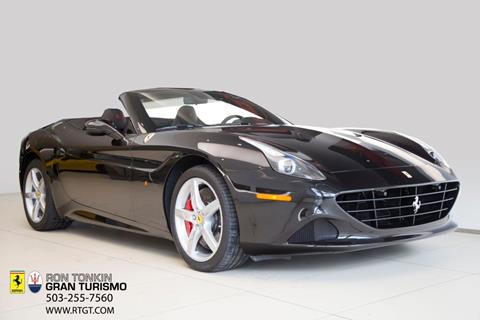 Captivating 2017 Ferrari California T For Sale In Wilsonville, OR