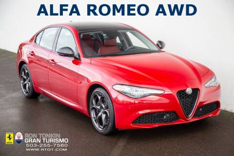 2019 Alfa Romeo Giulia for sale at Ron Tonkin Gran Turismo in Wilsonville OR