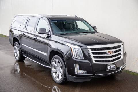 2019 Cadillac Escalade ESV for sale at Ron Tonkin Gran Turismo in Wilsonville OR