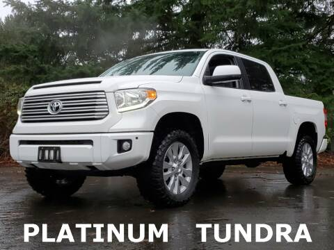 2017 Toyota Tundra for sale at Ron Tonkin Gran Turismo in Wilsonville OR
