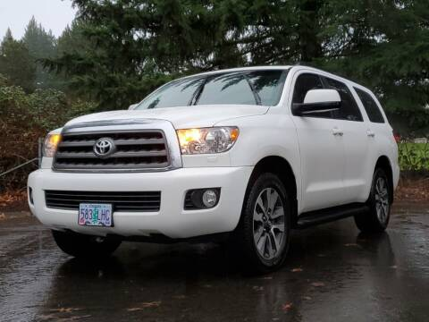 2017 Toyota Sequoia for sale at Ron Tonkin Gran Turismo in Wilsonville OR