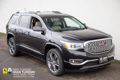 2019 GMC Acadia for sale at Ron Tonkin Gran Turismo in Wilsonville OR
