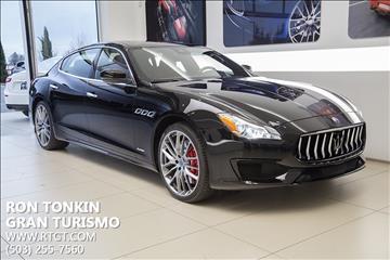 2017 Maserati Quattroporte for sale in Wilsonville, OR