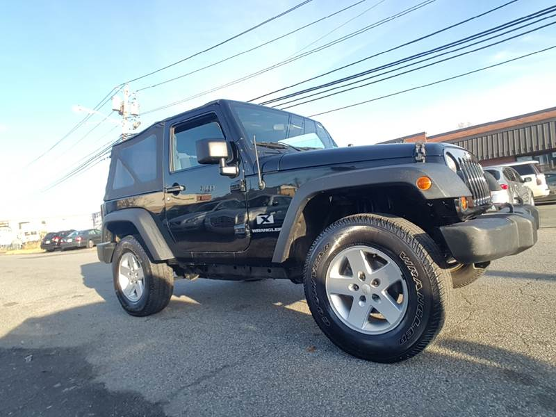 2007 Jeep Wrangler for sale at MENNE AUTO SALES LLC in Hasbrouck Heights NJ