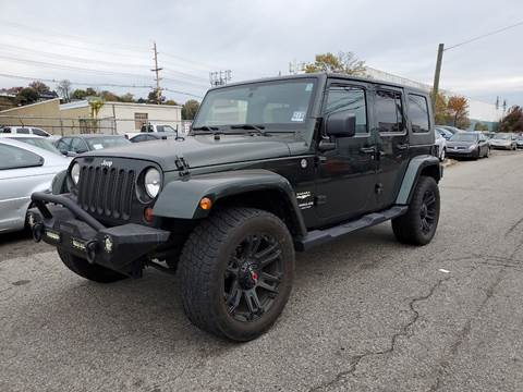 2010 Jeep Wrangler Unlimited for sale in Hasbrouck Heights, NJ