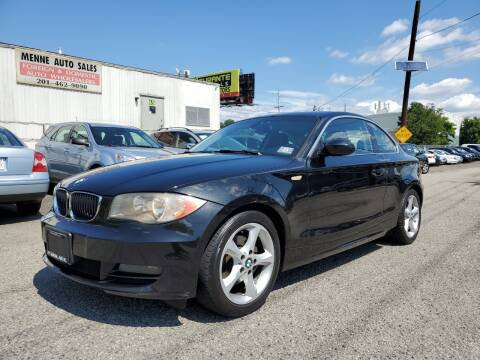 2008 BMW 1 Series for sale at MENNE AUTO SALES in Hasbrouck Heights NJ