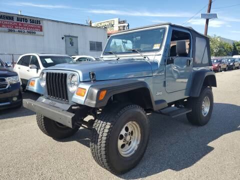 1997 Jeep Wrangler for sale at MENNE AUTO SALES in Hasbrouck Heights NJ