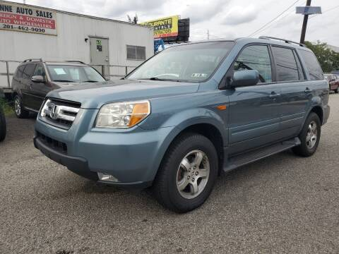 2006 Honda Pilot for sale at MENNE AUTO SALES in Hasbrouck Heights NJ