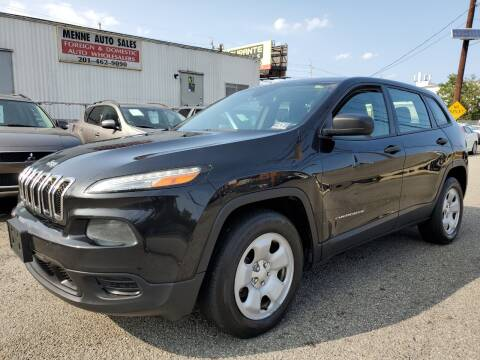 2014 Jeep Cherokee for sale at MENNE AUTO SALES in Hasbrouck Heights NJ