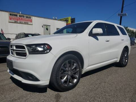 2014 Dodge Durango for sale at MENNE AUTO SALES in Hasbrouck Heights NJ