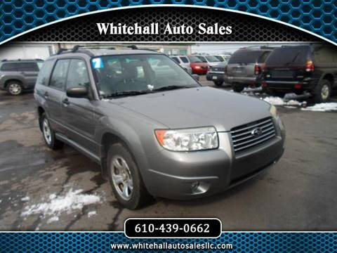 2007 Subaru Forester for sale in Whitehall, PA