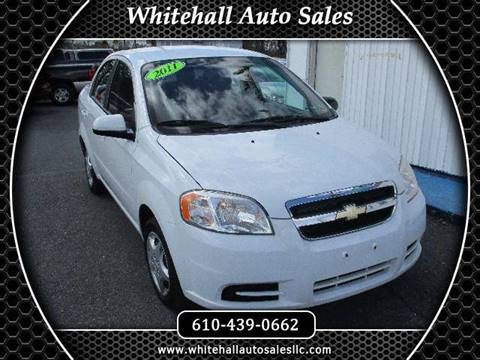 2011 Chevrolet Aveo for sale in Whitehall, PA