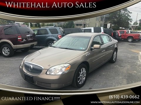 Whitehall Auto Sales >> Buick Lucerne For Sale In Whitehall Pa Whitehall Auto Sales