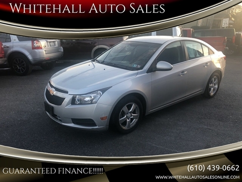 Whitehall Auto Sales >> 2012 Chevrolet Cruze For Sale In Whitehall Pa