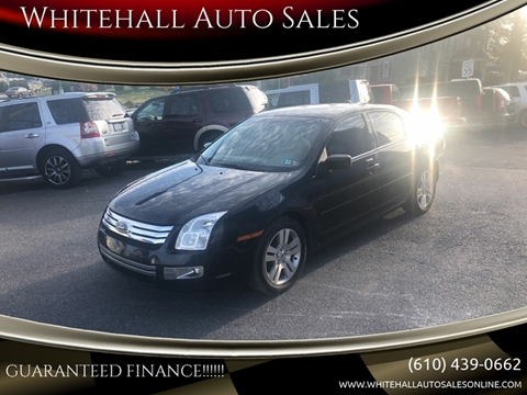 Whitehall Auto Sales >> 2009 Ford Fusion For Sale In Whitehall Pa
