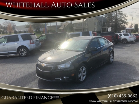 Whitehall Auto Sales >> Chevrolet Cruze For Sale In Whitehall Pa Whitehall Auto Sales
