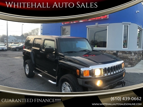 Whitehall Auto Sales >> 2007 Hummer H3 For Sale In Whitehall Pa