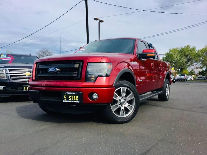 2014 Ford F-150 4x4 FX4 4dr SuperCrew Styleside 5.5 ft. SB ...