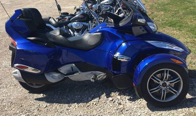2012 Can-Am Spyder RT SE5 Audio and Convenience Package - Richmond KY