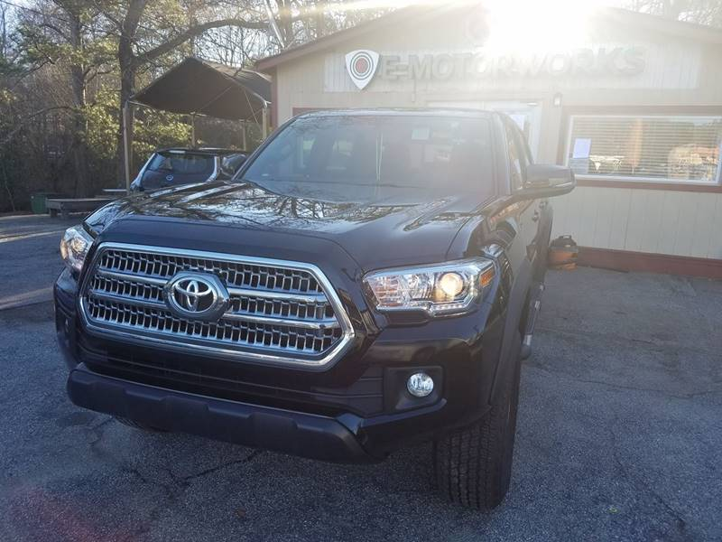 2016 Toyota Tacoma for sale at E-Motorworks in Roswell GA