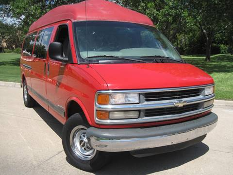 2001 Chevrolet Express Passenger for sale in Dallas, TX