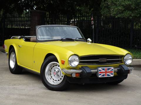 1975 Triumph TR6 for sale in Dallas, TX