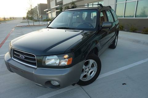 2004 Subaru Forester for sale in Dallas, TX