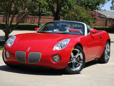 2006 Pontiac Solstice for sale in Dallas, TX