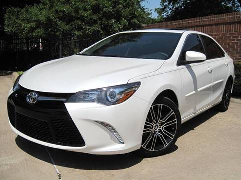 2016 Toyota Camry for sale at Ritz Auto Group in Dallas TX