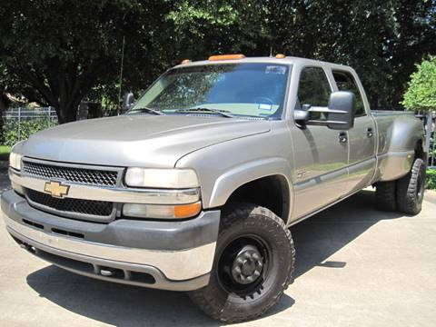 2002 Chevrolet Silverado 3500 for sale at Ritz Auto Group in Dallas TX