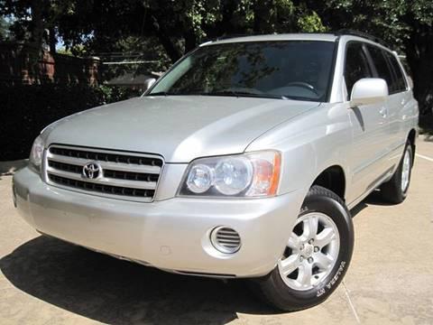 2003 Toyota Highlander for sale in Dallas, TX
